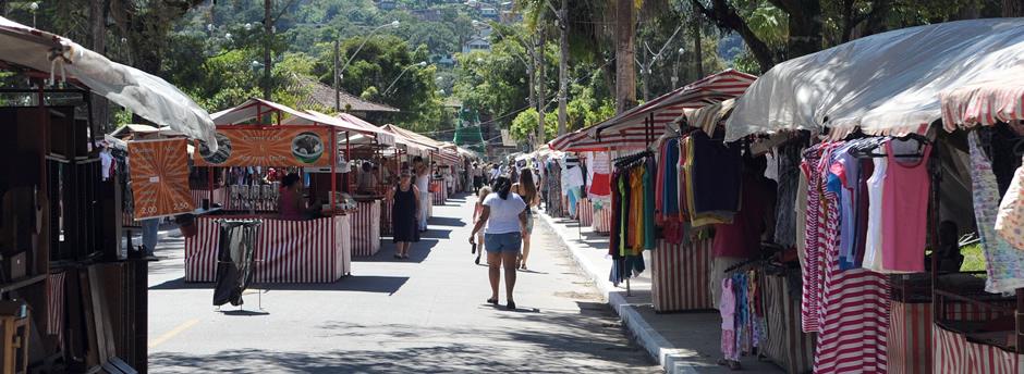 Pontos Turísticos Teresópolis - Feirinha do Alto FEIRARTE